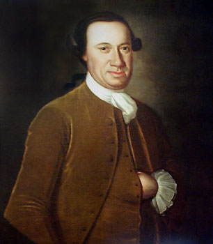 John Hanson - painting attributed to John Hesselius, c. late 1760s