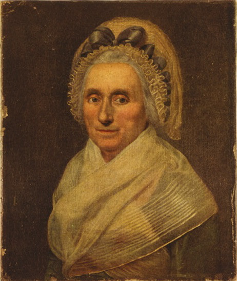 "Only known portrait of Mary Ball Washington. Quoth her son, ""My mother was the most beautiful woman I ever saw. All I am I owe to my mother. I attribute my success in life to the moral, intellectual and physical education I received from her."""