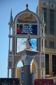 Which Venetian God rides an attack turtle? The Rock of Ages advertisement oversees it all.