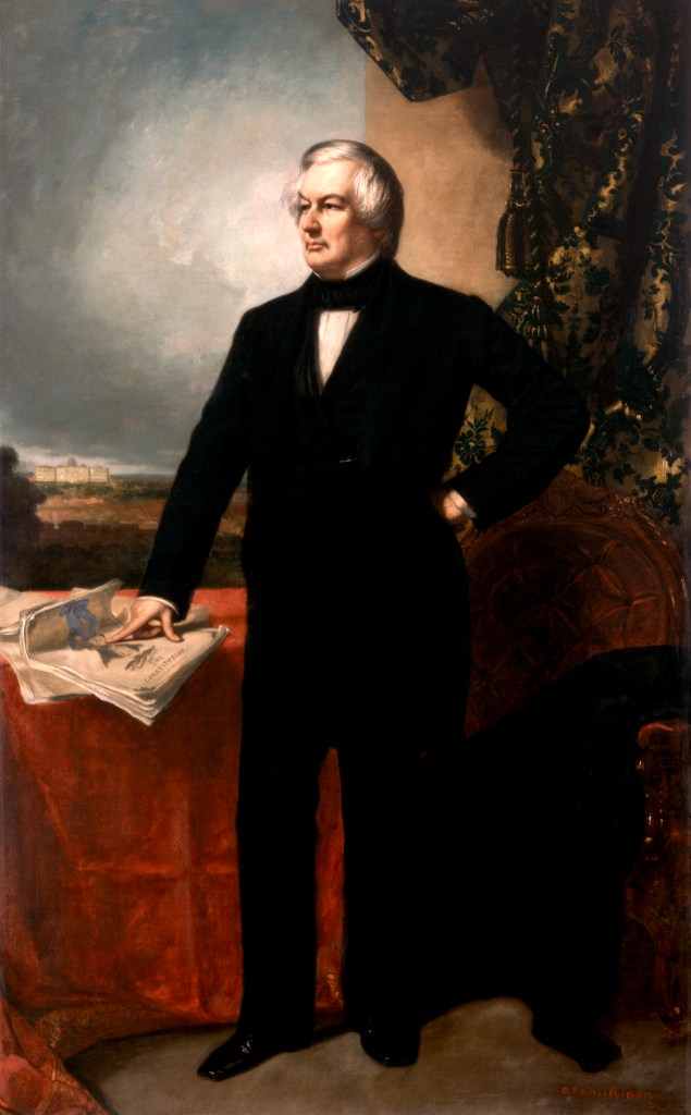 Millard Fillmore, official White House portrait
