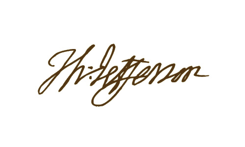 Thomas Jefferson Signature