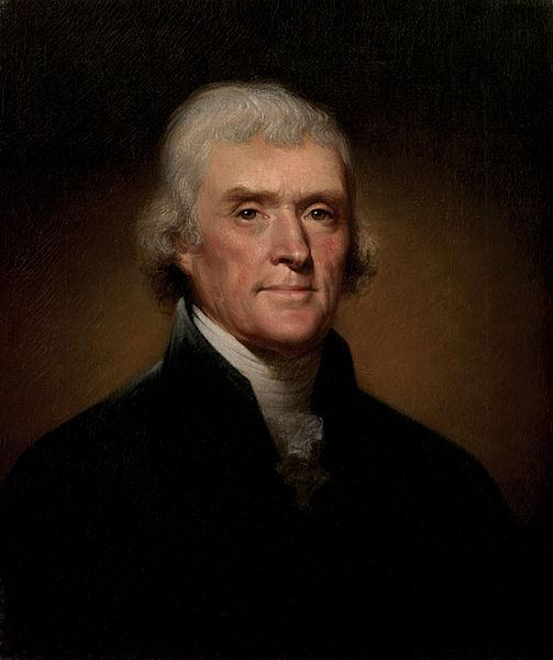 Thomas Jefferson, Official White House Portrait