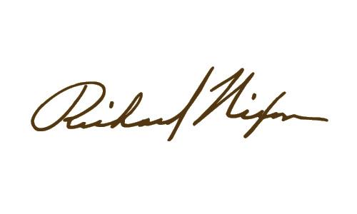 Richard Nixon Signature