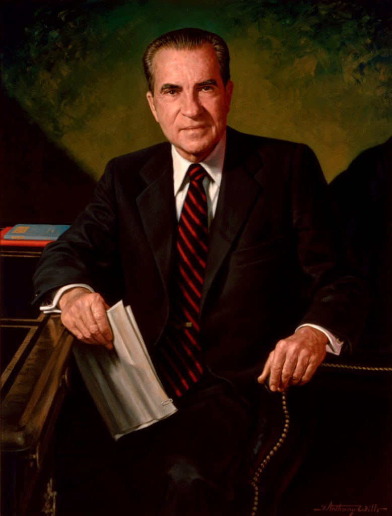 Richard Nixon, Official White House Portrait