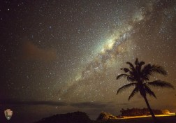 View of the MilkyWay from the only National Park in the Southern Hemisphere - National Park of American Samoa. Tweeted by US Department of Interior.