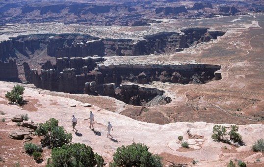 From the Canyonlands National Park website.