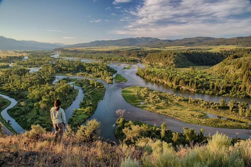 Snake River. Photo tweeted by the Department of the Interior, 11/19/13.