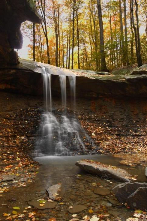 Blue Hen Falls. From the Park's website.
