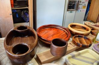 Routed Bowl 24