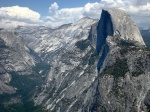 2006. Half Dome from Glacier Point.