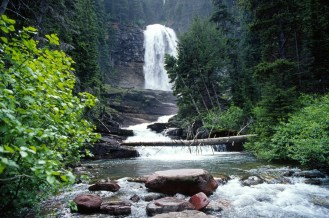 Virginia Falls. From the Park's website.