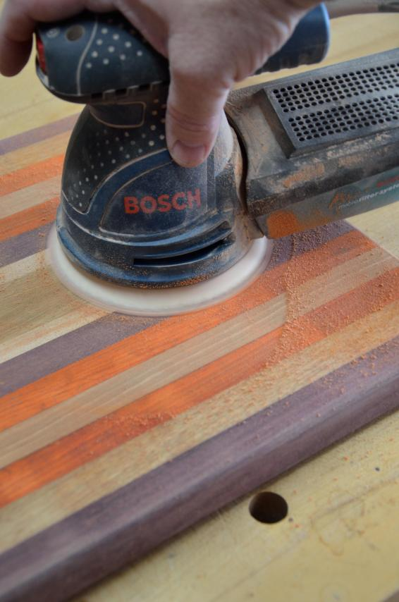 A random orbital sander is not required, but it does make the process easier.