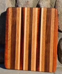 #34: Tigerwood, Red Oak, Walnut, Hard Maple.