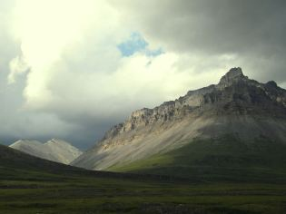 """A """"wow"""" photo of a summer storm in Anaktuvuk Pass. Tweeted by the US Department of the Interior, 1/25/14."""