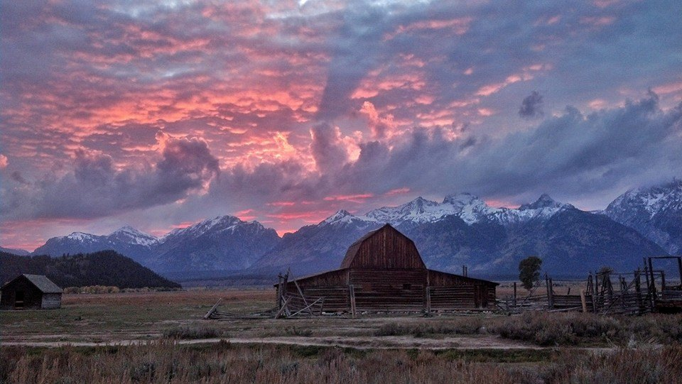 Grand Teton National Park. Photo by Robert McKinney. Posted by the US Department of the Interior on Tumblr, 5/8/14.