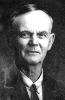 Henry Barrett (1850 - 1934), the father of my Grandfather Mowry's mother. He is my Great Great Grandfather.
