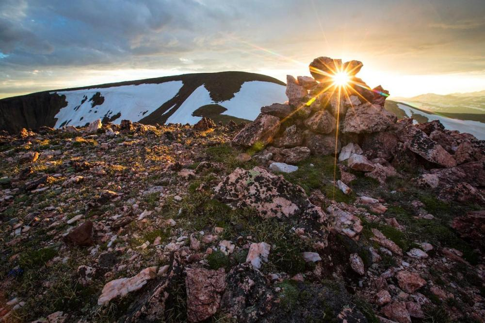 Sometimes it is about being in the right place at the right time to see nature's beauty revealed like in this photo from Rocky Mountain National Park. Photo: JW Frank. Posted on Tumblr by the US Department of the Interior, 7/26/14.