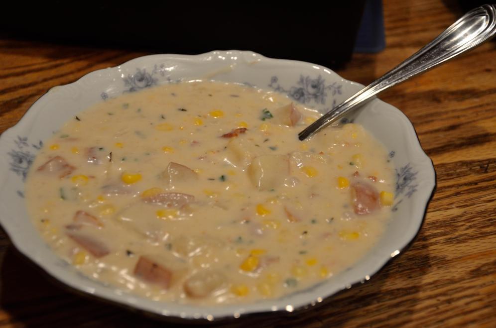Bacon Corn Chowder 15