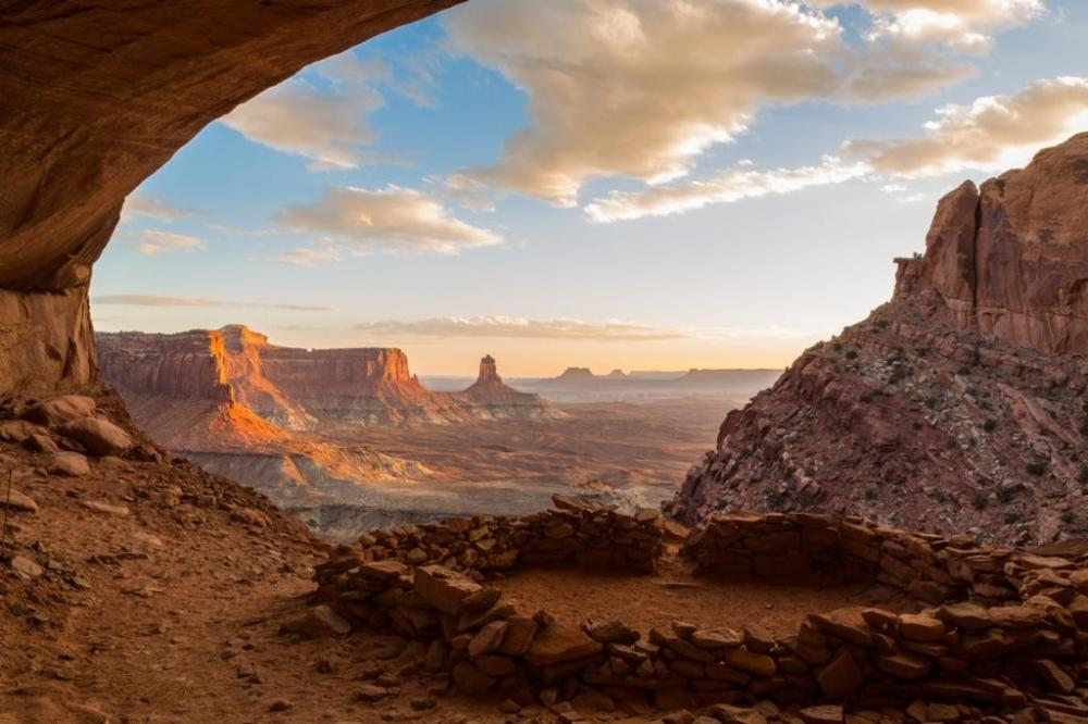 A beautiful sunset at Canyonlands National Park. Tweeted by the US Department of the Interior, 9/19/14.