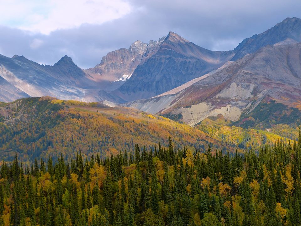 Fall has arrived beautifully in Alaska's Lake Clark National Park. Posted on Tumblr by the US Department of the Interior, 9/13/14.