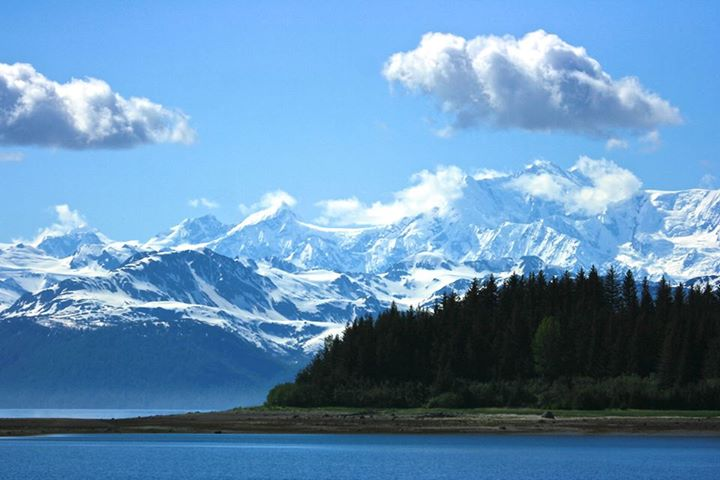 Fairweather Mountains in the Glacier Bay National Park. Tweeted by the US Department of the Interior, 11/24/14.