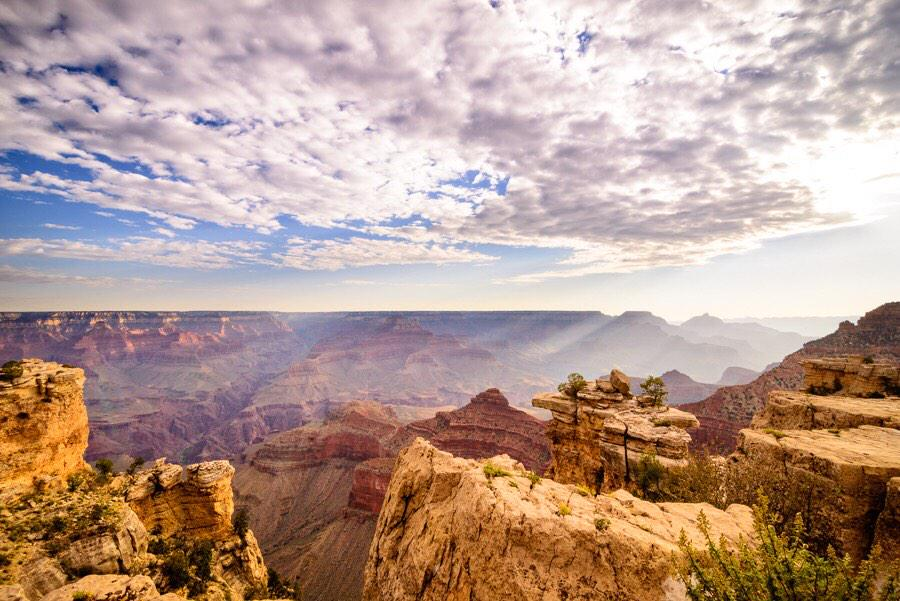 Grand Canyon National Park at Sunrise. Photo by Peter C Blanchard. Tweeted by the US Department of the Interior, 2/10/15.