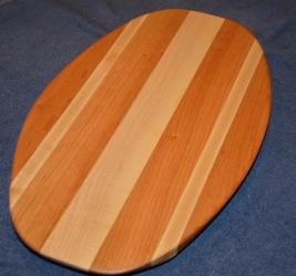 Surfboard # 15 - 06. Hard Maple and Cherry.