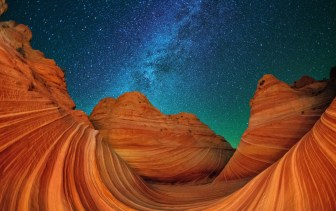 Located on the Colorado Plateau in northern Arizona, Vermilion Cliffs National Monument is a geologic treasure. This remote and unspoiled monument contains 280,000 acres of diverse landscapes — including the colorful swirling stone of the Wave (pictured here). Posted on Tumblr by the US Department of the Interior, 3/28/15.