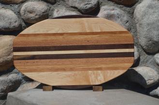 Large Surfboard # 15 - 22. Black Walnut, Hard Maple, Cherry & Red Oak.