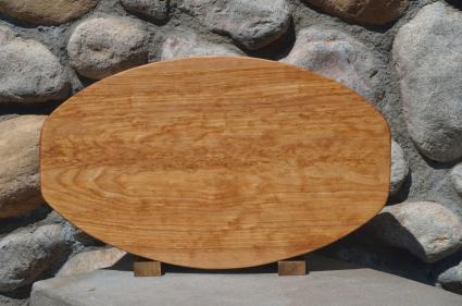 Large Surfboard # 15 - 23. Hard Maple.