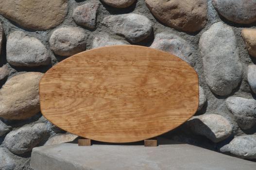 Large Surfboard # 15 - 25. Hard Maple.