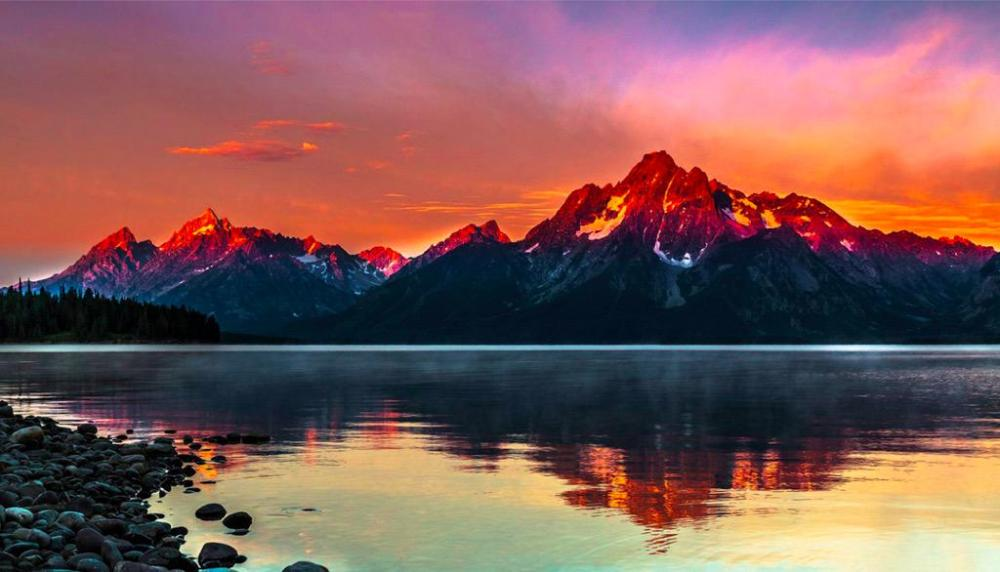 Add this National Park to your bucket list now! Wyoming's Grand Teton National Park. Photo by Venkatreddy Kancharla. Tweeted by the US Department of the Interior, 9/18/15.