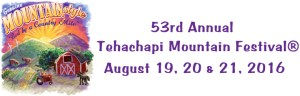 Tehachapi Mountain Festival 2016