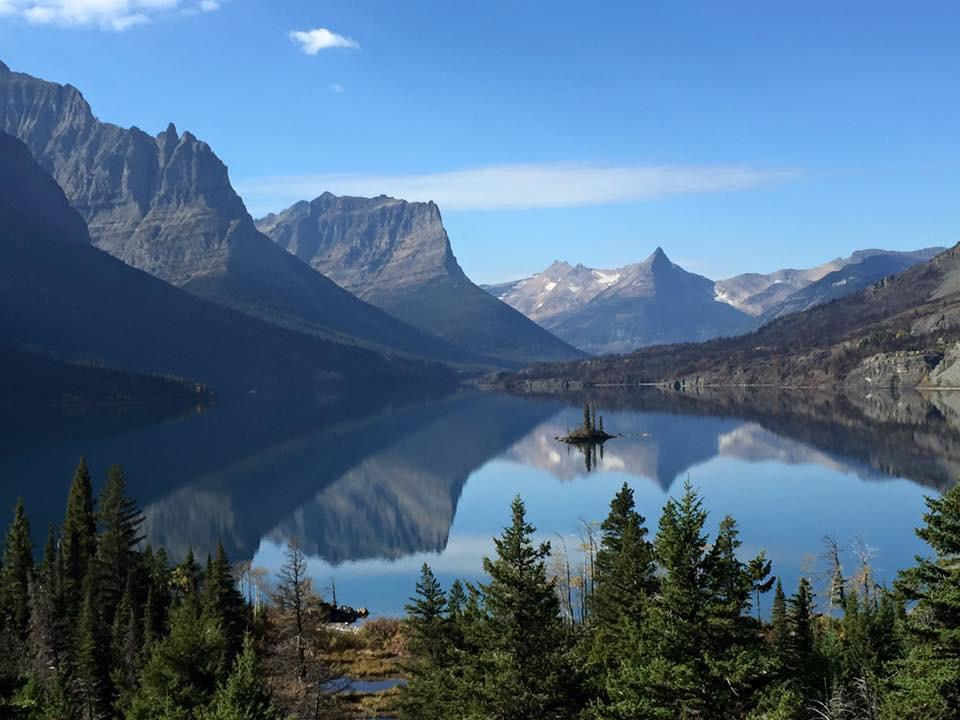 Shouldn't this be on your bucket list? Wild Goose Island in Montana's Glacier National Park. Tweeted by the US Department of the Interior, 10/7/15.