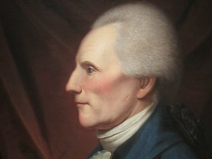 Richard Henry Lee. Portrait by Charles Willson Peale.