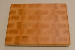 "Small Board 16 - 005. Hard Maple. End grain. 10"" x 12"" x 15/16""."