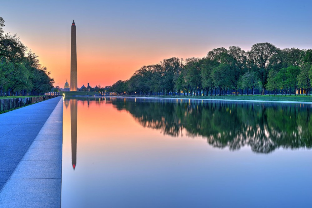 Happy President's Day! A 555-foot marble obelisk, the Washington Monument towers over Washington, D.C. Photo by Jeff Norman. Posted on Tumblr by the US Department of the Interior, 2/15/16.