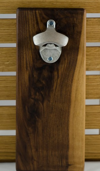 Magic Bottle Opener 16 - 039. Black Walnut.