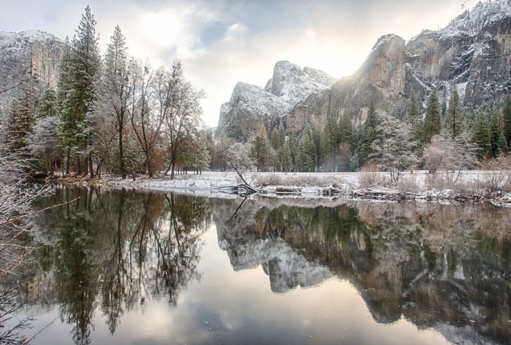 California's Yosemite National Park. Photo by Yu Shi. Posted on Tumblr by the US Department of the Interior, 12/21/16.