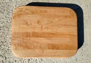 """Cutting Board 17 - 109. Hard Maple, Edge Grain. 11"""" x 14"""" x 1-1/8""""."""
