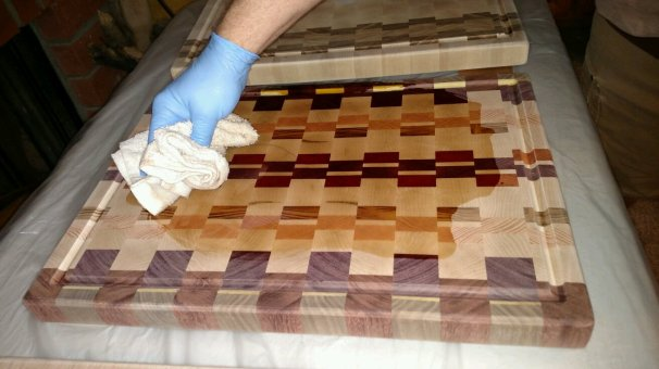 You get to see the real colors of the wood!