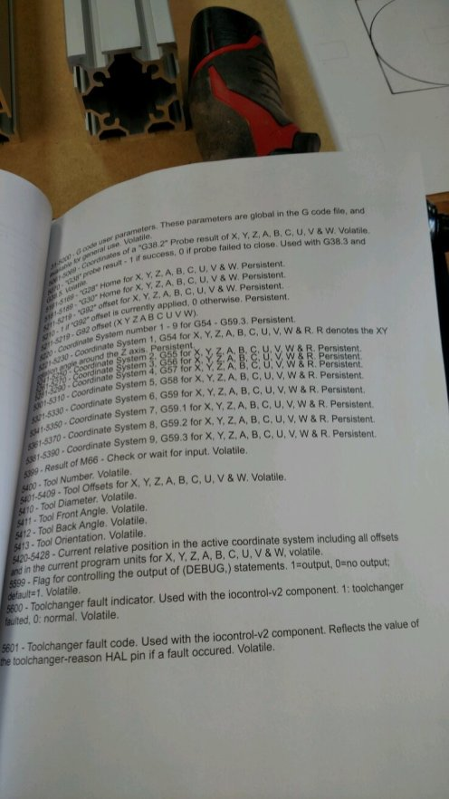 The instructions have a couple of pages of G code explanations. I know G code drives the machine ... but this is way, way, way beyond my understanding today.