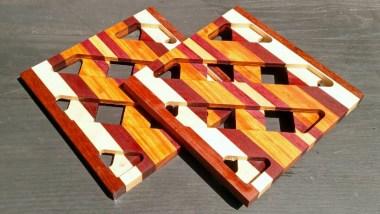 """Trivet 18 - 718. 8.5"""" square."""