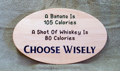 CNC Sign 18 - 92 A Banana