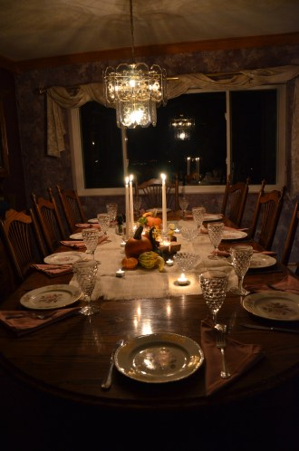 Thanksgiving Table, Revealed
