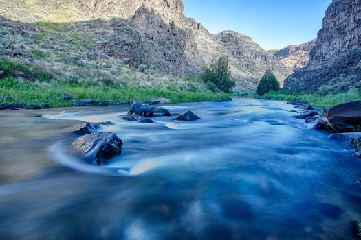Bruneau River by Bob Wick