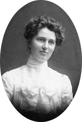 """Matilda Rebecca """"Tillie"""" Swartz Decker (1880 - 1946), my mother's mother's mother. My Great Grandmother."""