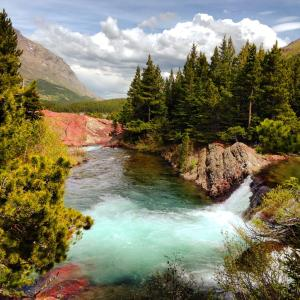 Montana's Glacier National Park. Picture by Oliver Goodman. Tweeted by the US Department of the Interior, 6/12/15.