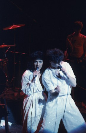 """Jane Wiedlin of the Go-Gos had a hit with Russell Mael: """"Cool Places."""""""
