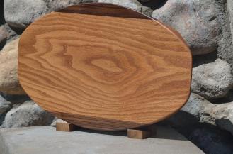 Surfboard # 15 - 19. Black Walnut & Red Oak.